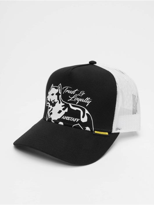 Amstaff trucker cap Zenoth zwart