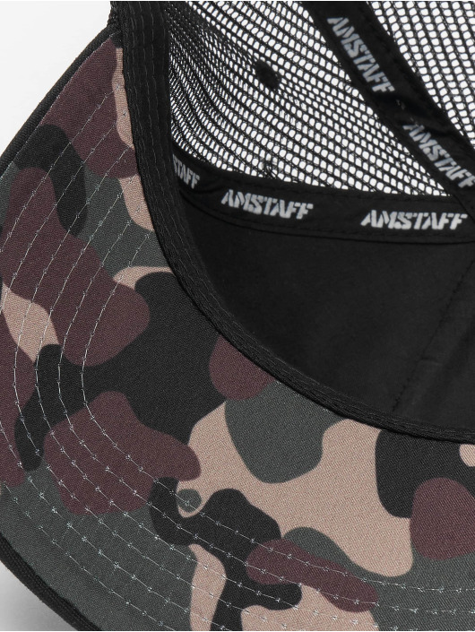 Amstaff Trucker Caps Barky svart