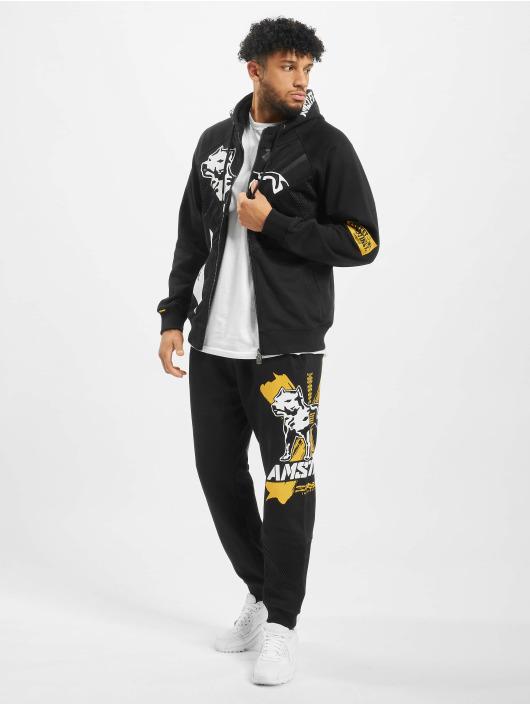 Amstaff Zip Hoodie Campos black