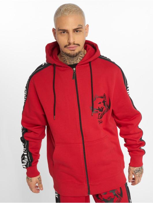 Amstaff Zip Hoodie Avator red