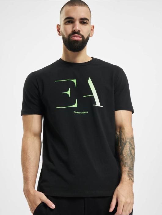 Armani Футболка Logo EA черный