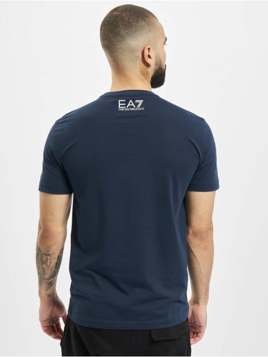 Armani Camiseta Modern Logo azul