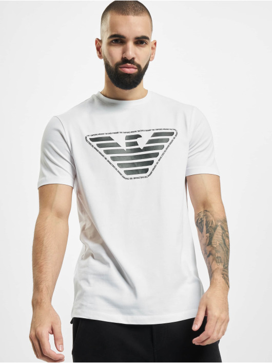 Armani Camiseta Eagle blanco