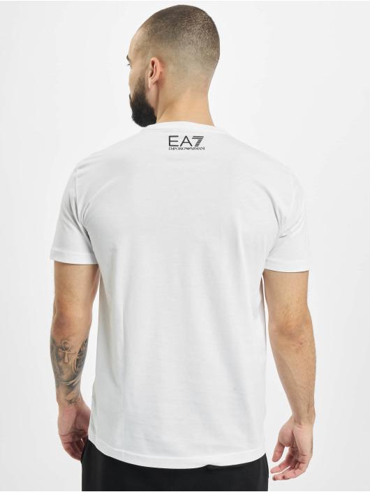 Armani Camiseta Modern Logo blanco