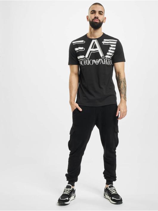 Armani Camiseta Modern Logo negro