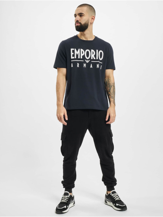 Armani T-shirt Emporio blå