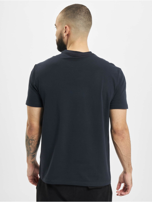 Armani T-Shirt Logo EA blau