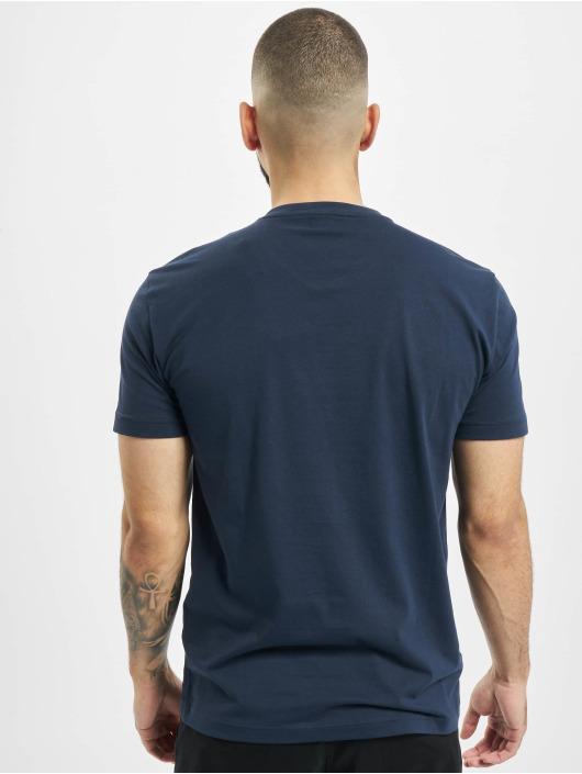 Armani t-shirt EA7 II V-Neck blauw