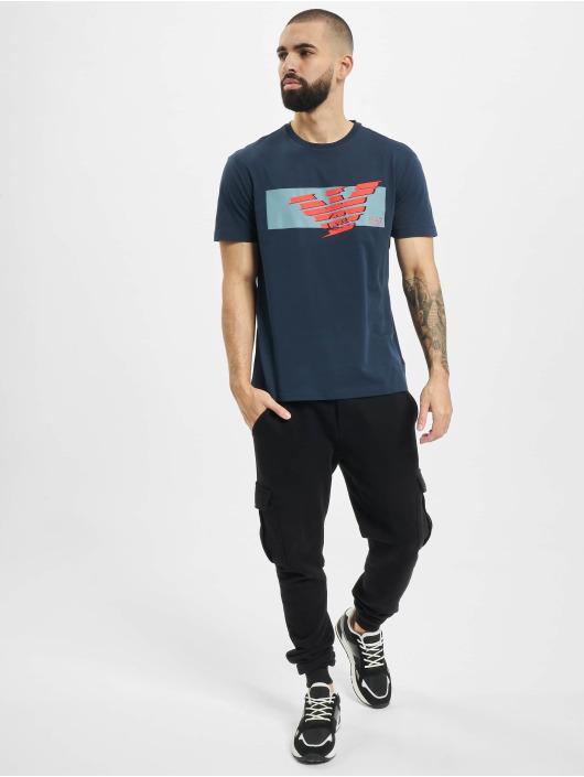 Armani t-shirt Eagle EA blauw