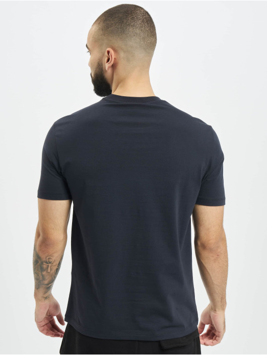 Armani t-shirt Logo blauw