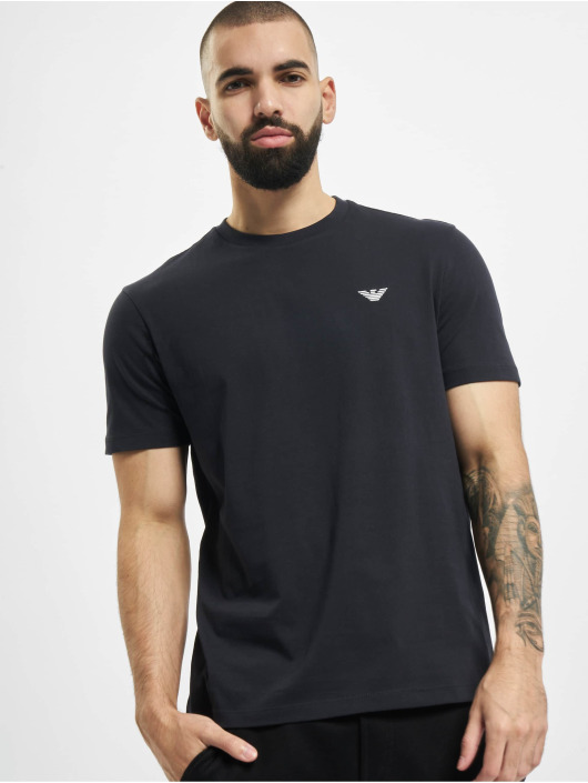 Armani T-Shirt Basic bleu