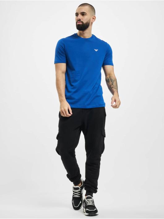 Armani T-Shirt Basic bleu