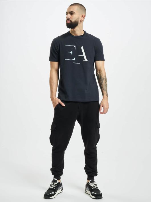 Armani T-shirt Logo EA blu