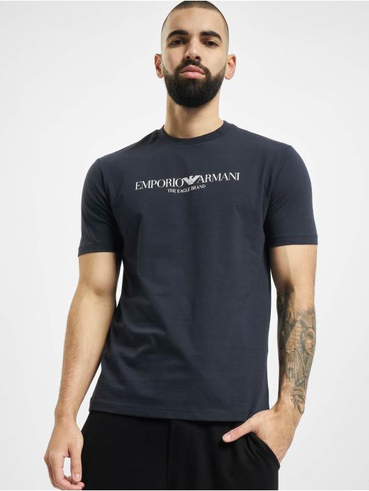 Armani T-Shirt Logo blue