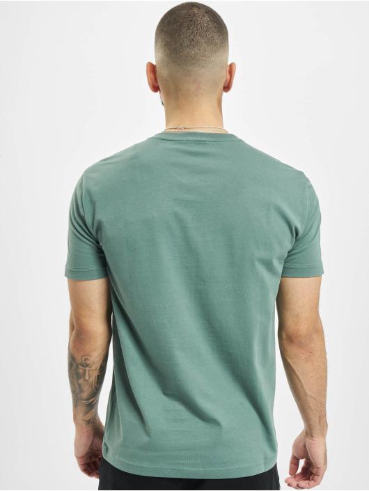 Armani T-Shirt EA7 II V-Neck grün