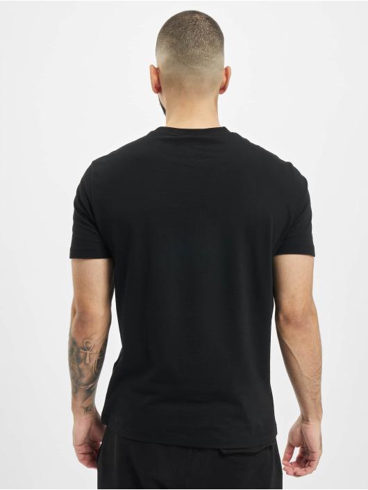 Armani T-Shirt Logo schwarz