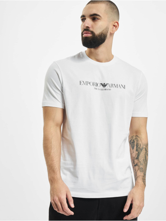 Armani T-Shirt Logo weiß