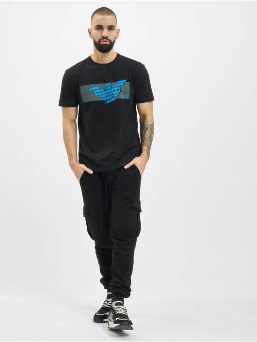 Armani t-shirt Eagle EA zwart
