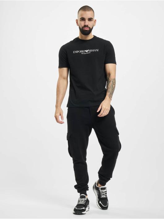 Armani t-shirt Logo zwart