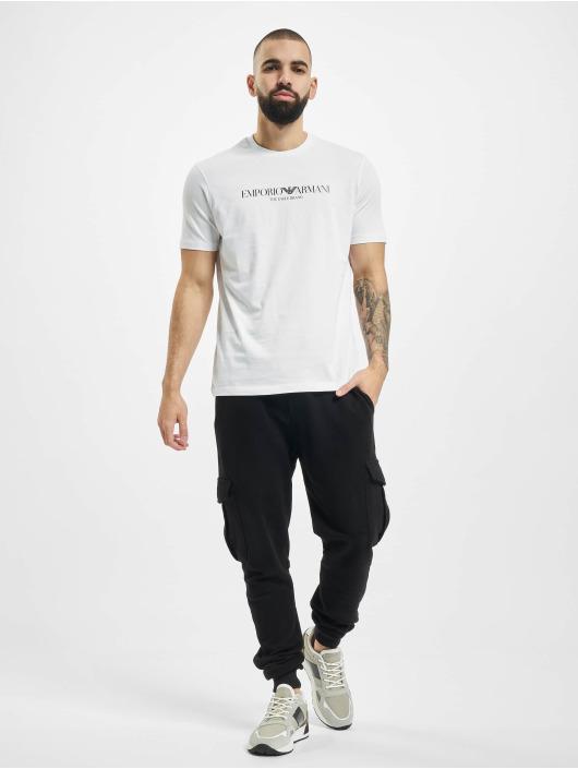 Armani T-shirts Logo hvid