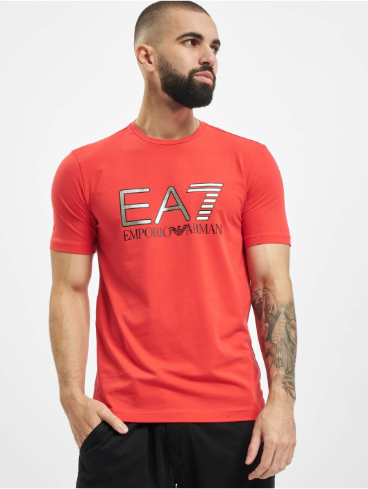 Armani T-shirts EA7 II rød