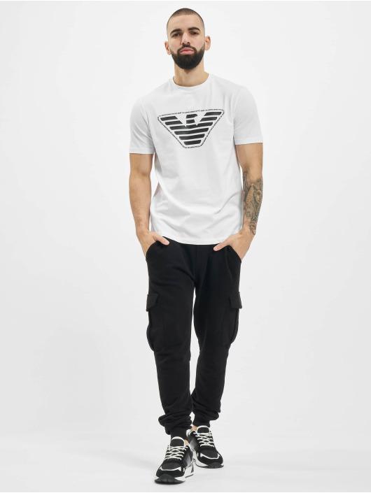 Armani T-Shirty Eagle bialy