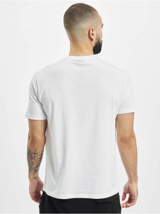 Armani T-Shirty Logo EA bialy