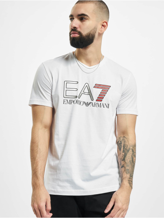 Armani T-Shirty EA7 II bialy