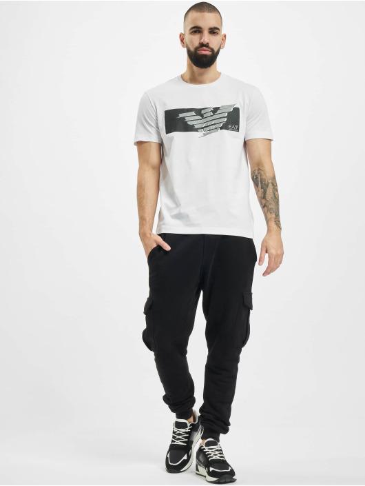 Armani T-Shirty Eagle EA bialy