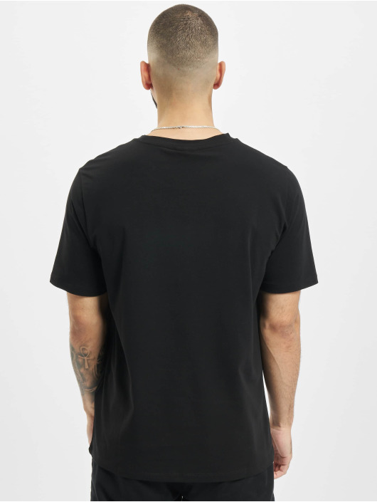 Armani T-Shirty Emporio czarny