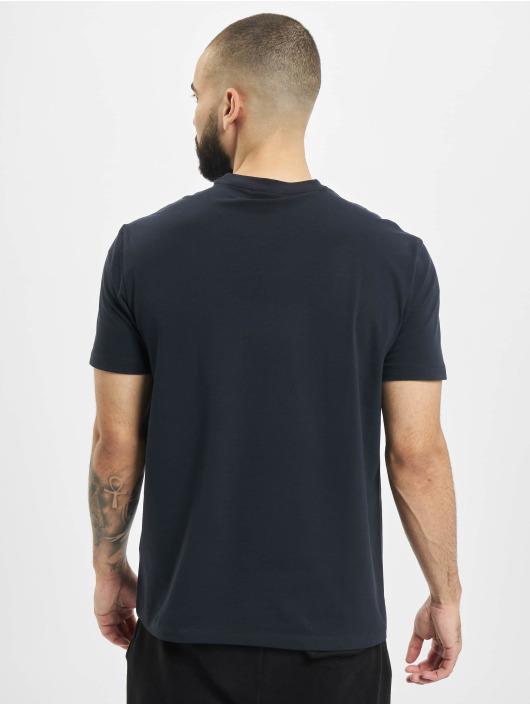 Armani T-Shirty Logo EA niebieski