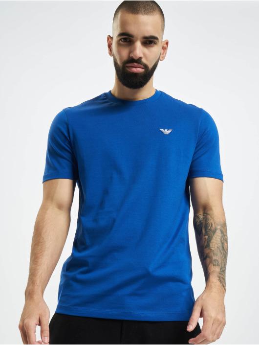 Armani T-Shirty Basic niebieski