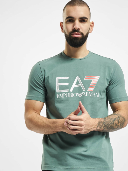 Armani T-Shirty EA7 II zielony