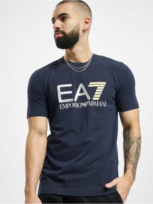 Armani T-skjorter EA7 II blå