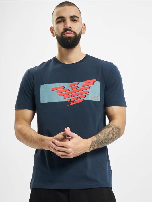 Armani T-skjorter Eagle EA blå