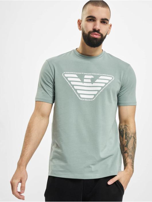 Armani T-skjorter Eagle grøn