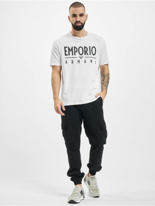 Armani T-skjorter Emporio hvit