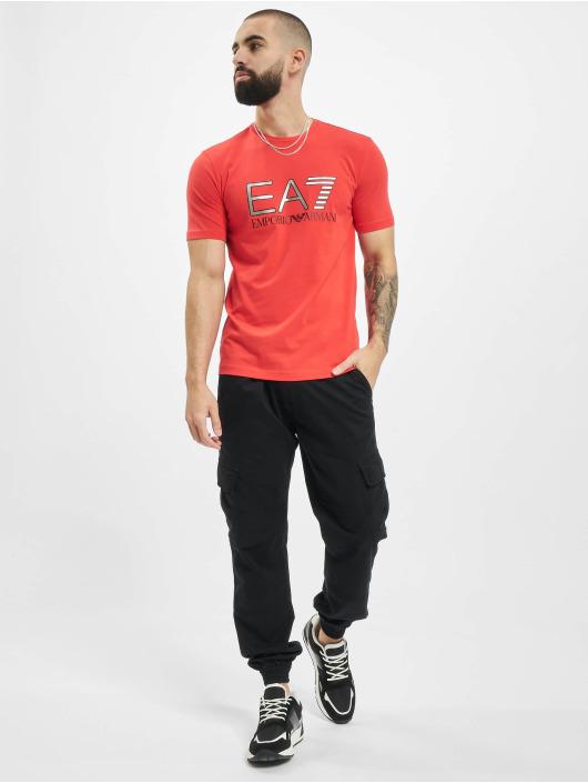 Armani T-skjorter EA7 II red