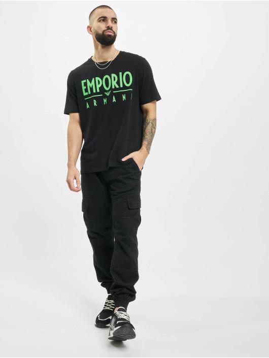 Armani T-skjorter Emporio svart