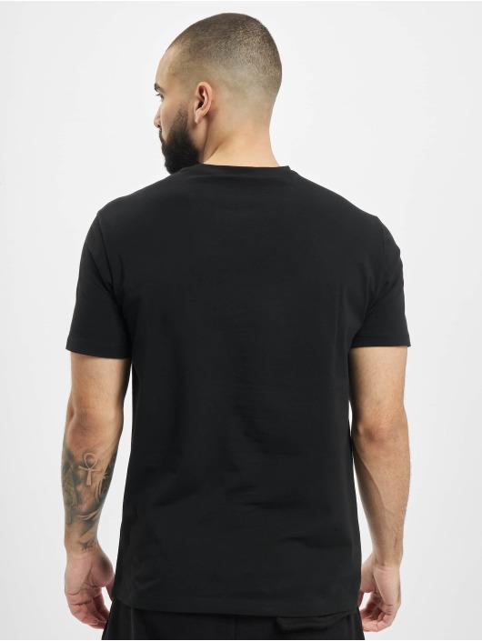Armani T-skjorter Logo EA svart
