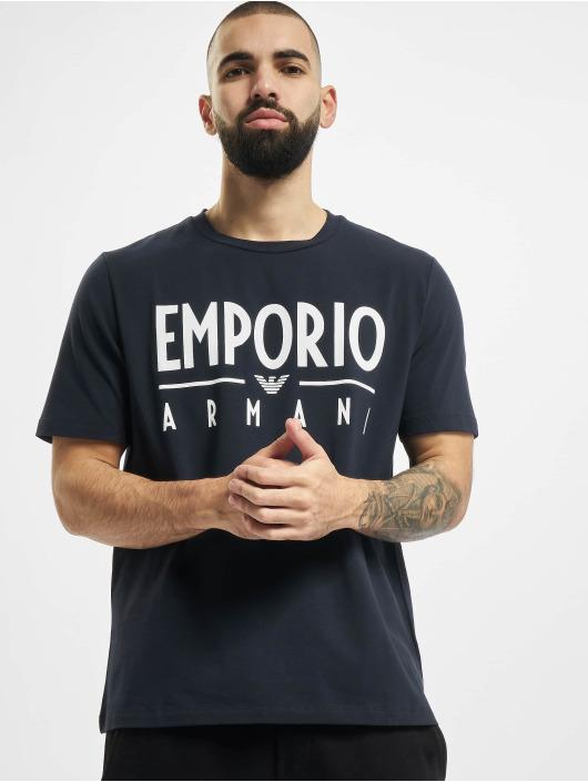 Armani Tričká Emporio modrá