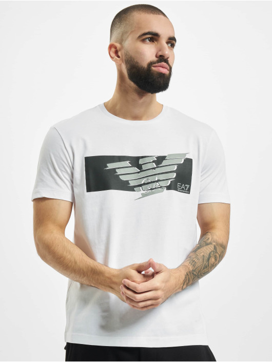 Armani Trika Eagle EA bílý