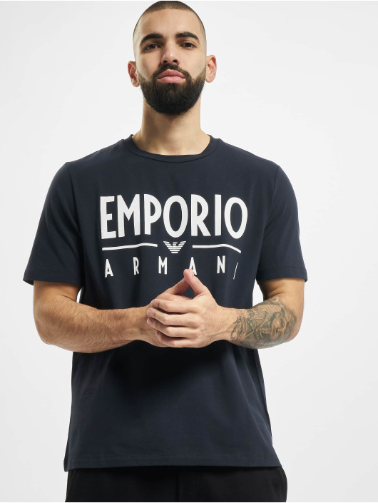 Armani Trika Emporio modrý