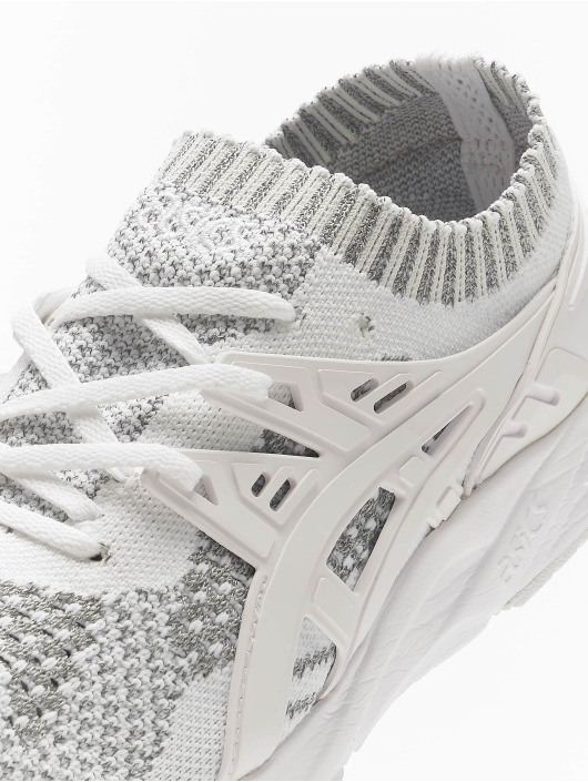 Asics Tøysko Gel-Kayano Trainer Knit hvit
