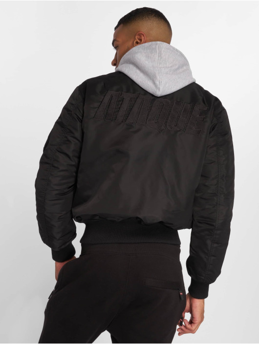 newest 79089 5a736 Ataque Cuyo Bomber Jacket Black