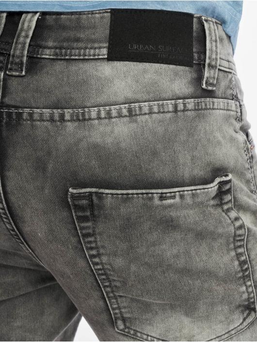 Authentic Style Šortky Sweat Denim Optic šedá