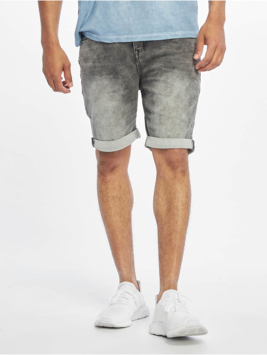 Authentic Style Short Sweat Denim Optic gray