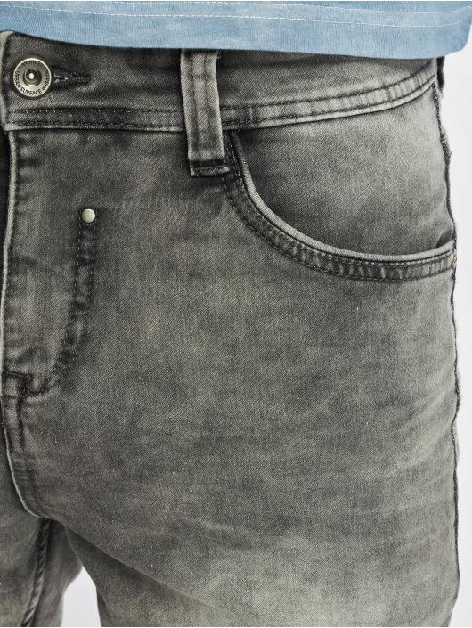 Authentic Style Short Sweat Denim Optic gris