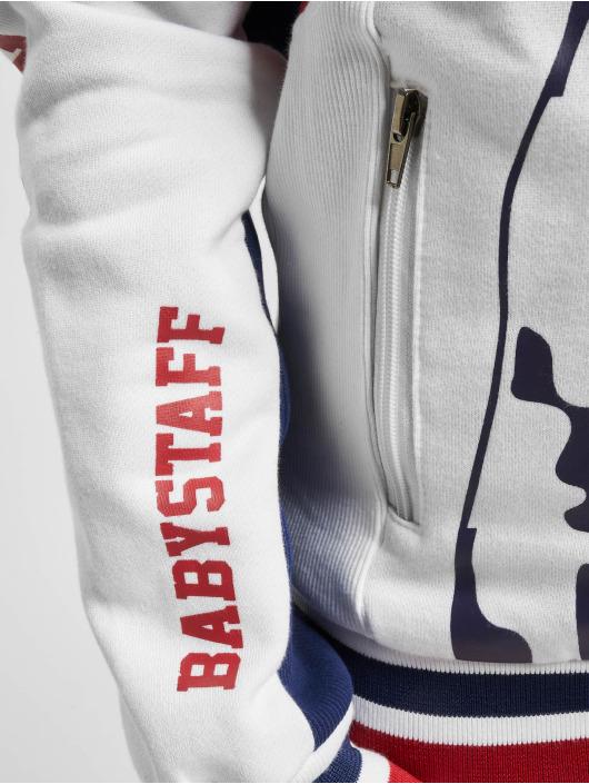Babystaff Hoodies con zip Lokum bianco