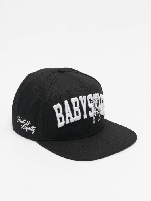 Babystaff Snapback Cap Sirah nero